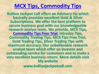 Get Expert Advice on Trading in Gold Silver with Bullion Jackpot Call