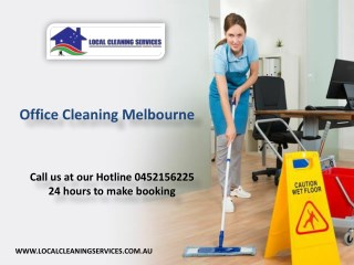Office Cleaning Melbourne - Local Cleaning Services