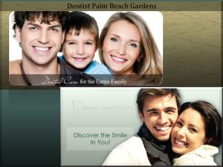 Dentist Palm Beach Gardens