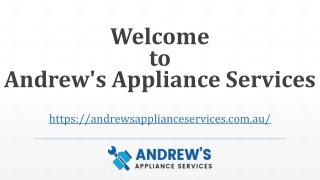 Appliance Services Sydney | Andrew's Appliance Services