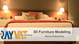 Architectural 3D Furniture Modeling | 3D furniture design firm