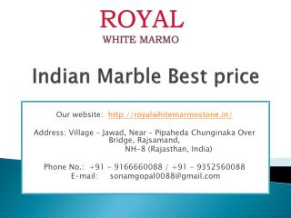 Indian Marble Best price