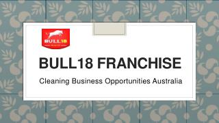 Cleaning Business Opportunities Australia