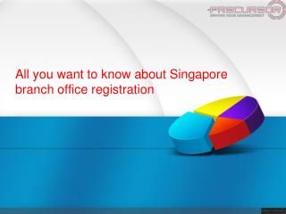 All you want to know about Singapore branch office registration