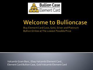 Chance to win EC Bullion Case