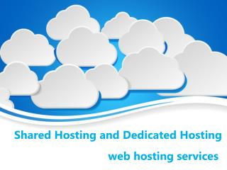 Key Differences Between Shared Hosting and Dedicated Hosting