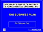 FINANCIAL ASPECTS OF PROJECT ENGINEERING AND CONTRACTING