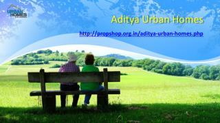 Aditya Urban Homes