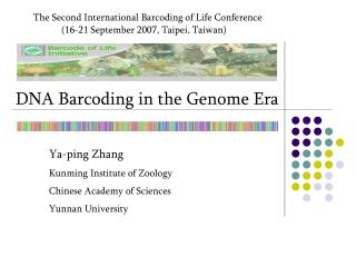 DNA Barcoding in the Genome Era