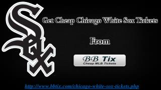 Chicago White Sox Tickets Discount Code