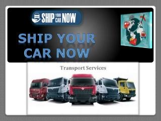 Vehicle Shipping Car Shipping