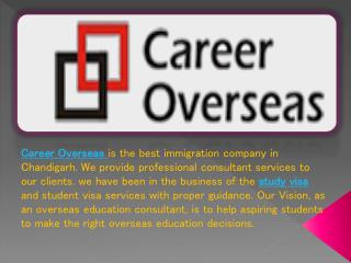 Career Overseas | Study Visa Consultant | Student Visa in Chandigarh