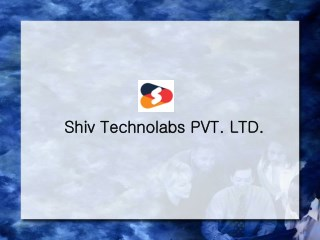 Shiv Technolabs PVT.LTD.