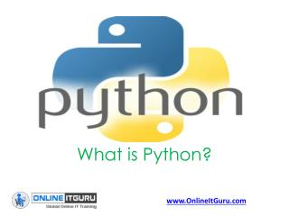 Free Tutorial Classes on  Python online training | Python online course