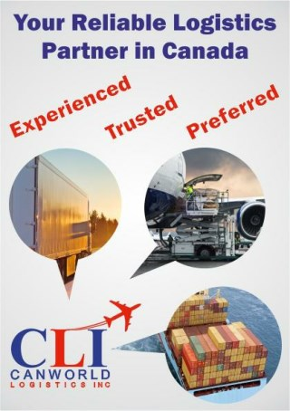Canworld Logistics INC: Your Transportation and Logistics in Reliable Partner Canada