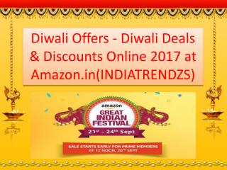Diwali Online Shopping Sale - Great India Festival Sep 21-24‎