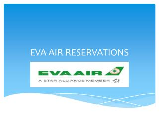 Eva Airlines Customer Care Service | Reservations