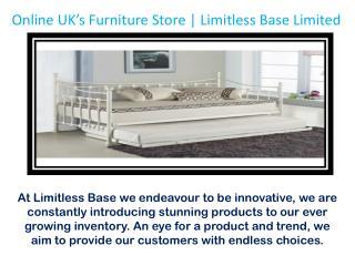 Reasonable Bedroom Furniture Online on Limitless Base Limited