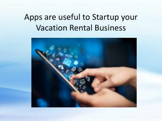 Startup Your Rental Business With Mobile Apps