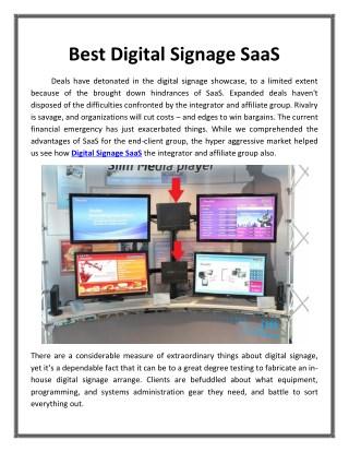 Best Digital Signage SaaS_Dynasign