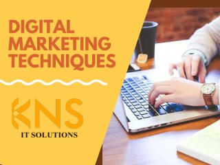 Digital Marketing Techniques