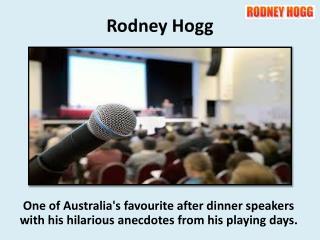 Motivational Speakers Melbourne - Rodney Hogg