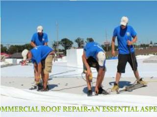 How to Obtain Commercial Roof Repair Service in Ohio?