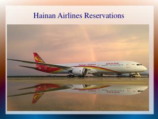 Hainan airlines | Customer Service phone number