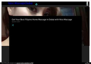 Get Your Best Filipino Home Massage in Dubai with Nice Massage
