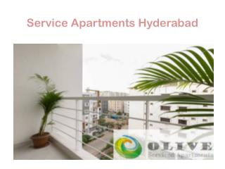 Service Apartments hyderabad