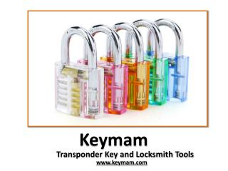 At Keymam Buy Locksmith Tools Online
