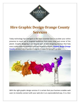 Affordable Graphic Design Services