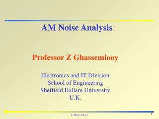 AM Noise Analysis