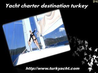 Blue cruise holidays in turkey