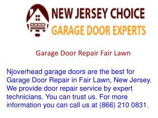 Garage Door Repair Fair Lawn