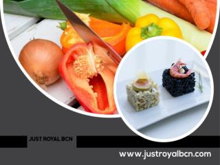 Cooking workshop Barcelona | Justroyalbcn