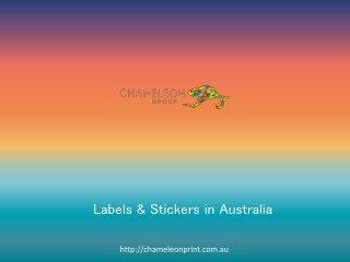 Labels & Stickers in Australia