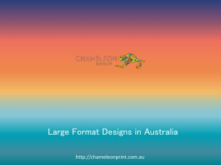 Large Format Designs in Australia