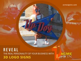 3D Outdoor Signs in Kansas City to Make Your Business Sound Smarter