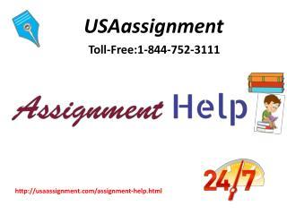 Assignment help|Online Assignment help| call:1-844-752-3111