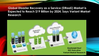 Global Disaster Recovery as a Service (DRaaS) Market is Expected to Reach $19 Billion by 2024, Says Variant Market Resea