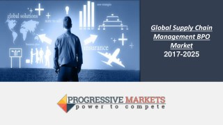 Global Supply Chain Management BPO Market 2017-2025