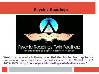Twin Featherz for Psychic Readings