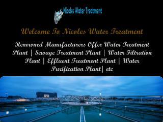 Sewage Treatment Plant in Faridabad