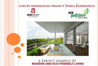 Luxury Residential Project Noida Expressway - ACE Group