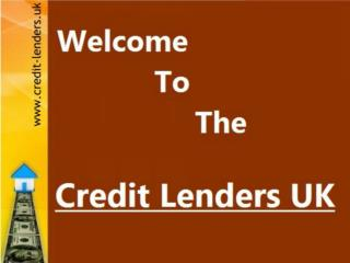 Credit Lenders UK  Business Loan Presentation