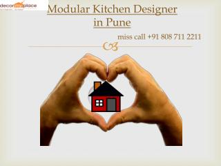 Best Modular Kitchen Designer in Pune | Modular Kitchen manufacturer in Pune | Decor My Place