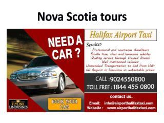 Nova Scotia tours-airport limo halifax-airporthalifaxtaxi-VIP limousines-Business class limousines