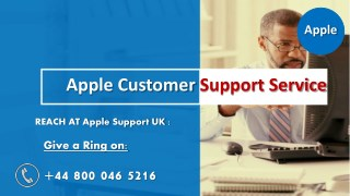 Apple Support Phone Number UK  44-8000465216