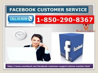 How Does Facebook Customer Service 1-850-290-8367 Render Reliable Aid?
